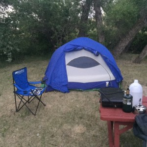 Four-star tent
